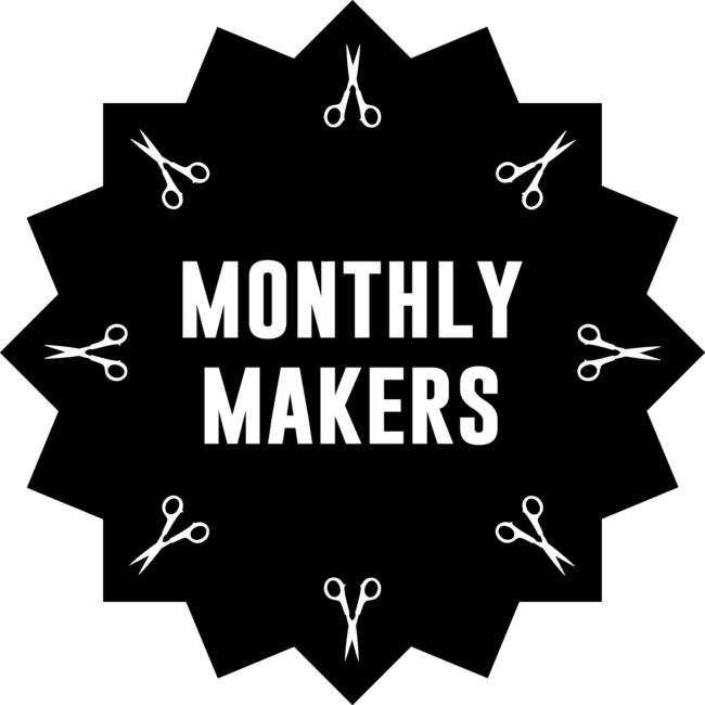 monthly makers svart